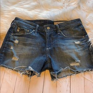 AG Adriano Goldschmied The Hailey cutoff size 26